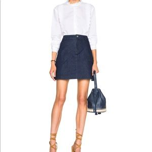 See By Chloé Denim Skirt in Indigo Size 40/8US